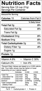 Nutrition_Facts_Sugar_Snap_Peas